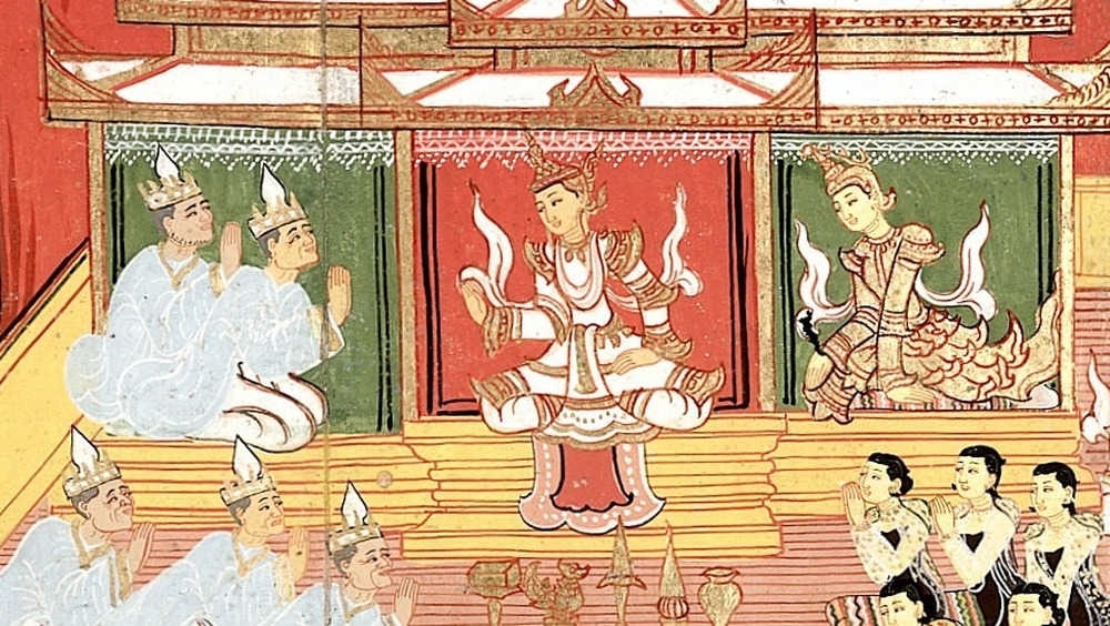 A king consults a Brahmin