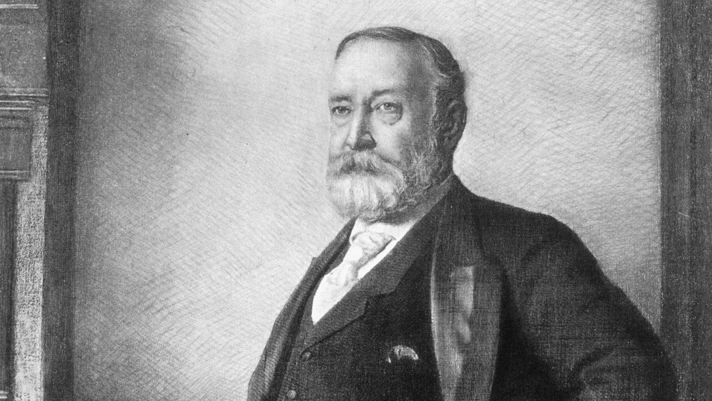 Artwork of Benjamin Harrison from 1901