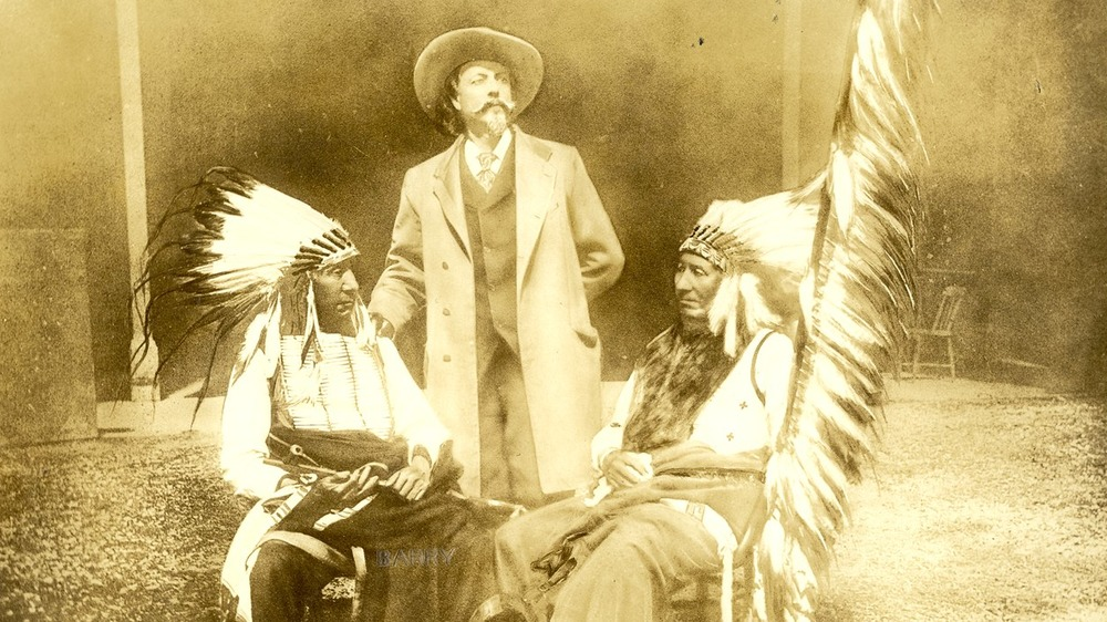 Red Cloud, Buffalo Bill, and American Horse