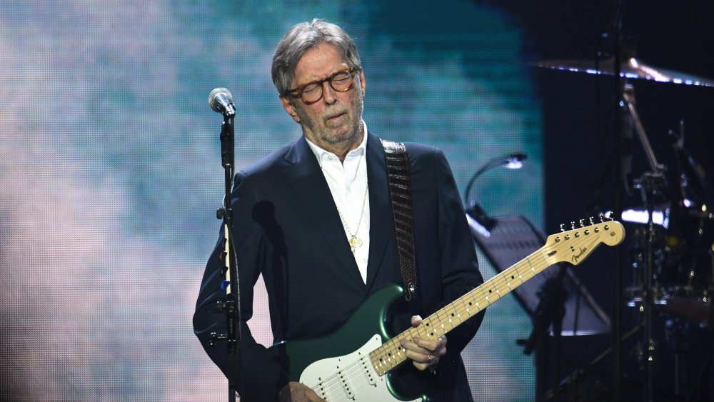 What Eric Clapton did before pursuing music