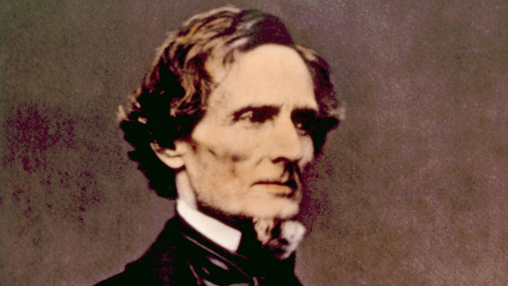 jefferson davis, confederate states of america, president