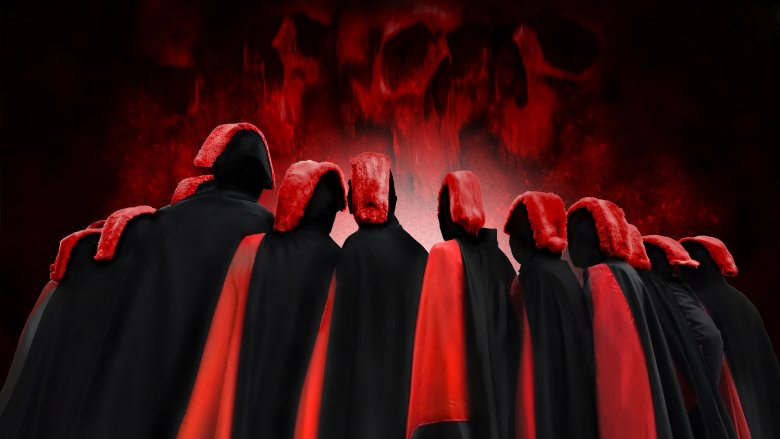 red robes
