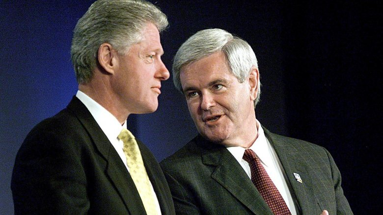 Bill Clinton, Newt Gingrich