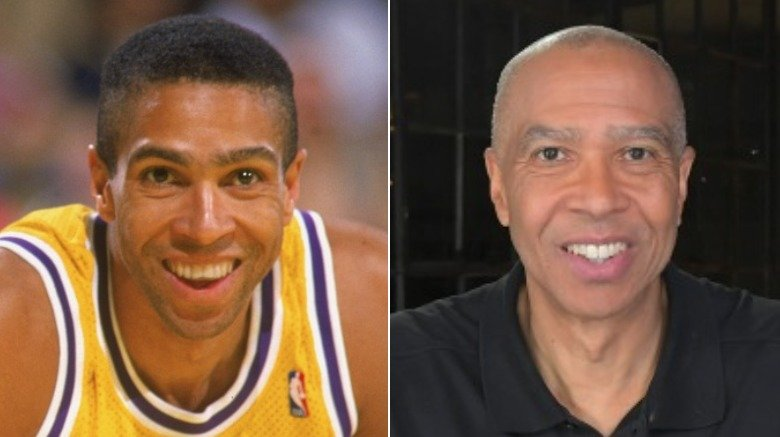 Mychal Thompson young and old