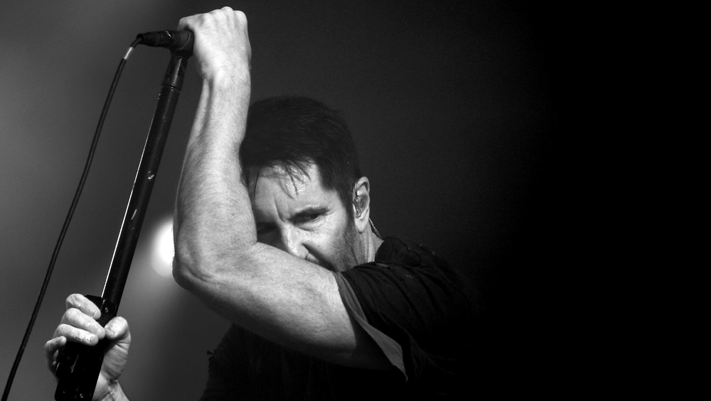 Trent Reznor performs in Los Angeles in 2017