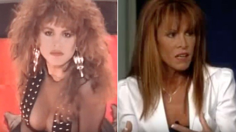 Jessica Hahn in Wild Thing video and on The View