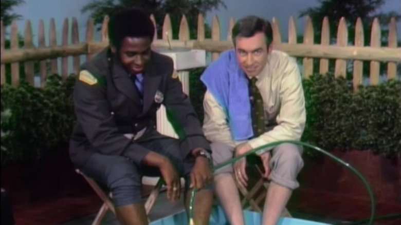 Fred Rogers and Francois Clemmons