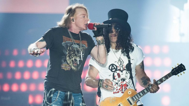 guns n roses axl slash