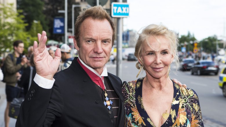 trudie styler sting marriage couple