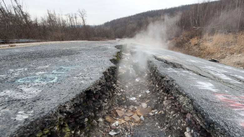 Centralia Pa Has Been Burning For Over 50 Years