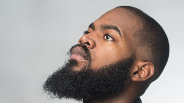 when a man grows a beard this is what happens